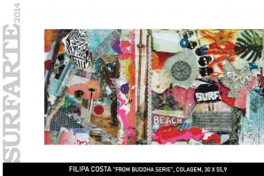 "SURFARTE 2014: ""BUDDHA SERIE"" DE FILIPA COSTA"