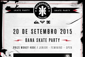 Bana skate party na Quiksilver Boardriders Ericeira