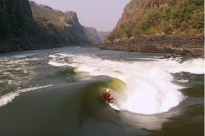 LAST WAVE OF THE ZAMBEZI, A ONDA MAIS INSANA SURFADA NUM RIO