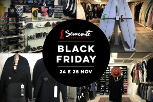 Semente Surfboards dá-te descontos na Black Friday!