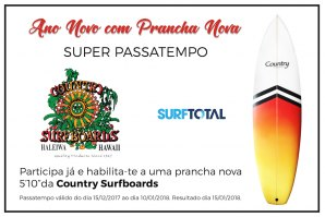 Super Passatempo Country Surfboards x Surftotal