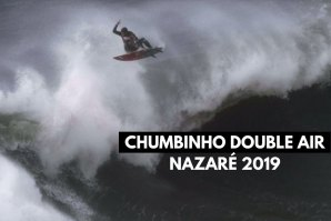 "Lucas Chumbo ""Double Air"" na Praia do Norte"