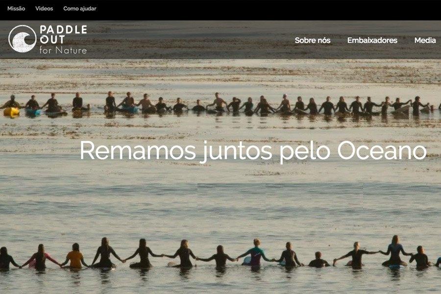 Movimento junta surfistas em prol da Natureza